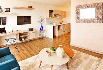 Apartamento en Venta en Envigado, con una agradable vista hacia la ciudad y un entorno campestre.