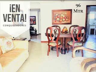 Una imagen de una sala de estar con un sofá en Apartamento en venta cerca a unicentro