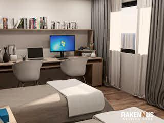 Una habitación de hotel con dos camas y un televisor en Sevilla 1005