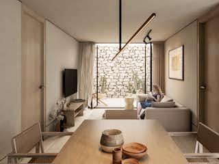 Una sala de estar llena de muebles y una ventana en Trébol 16