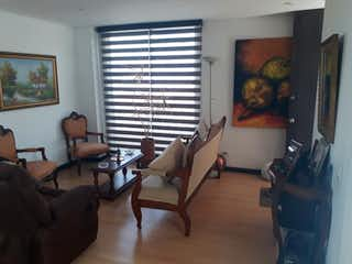 Una sala de estar llena de muebles y una televisión de pantalla plana en VENDO APARTAMENTO FUNZA - CUNDINAMARCA