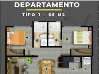 Una visualización de diferentes tipos de electrónica en Departamento en venta en Santa úrsula Coapa de 2 hab.