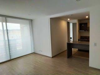 Una vista de una cocina desde el pasillo en Apartamento En Venta En Bogota Cantalejo