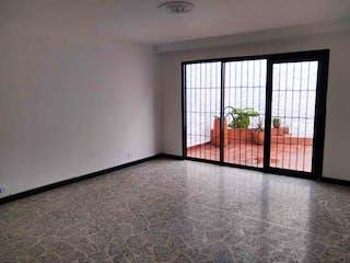 Una vista de una sala de estar desde una ventana en Casa en venta en Florida Nueva, de 203mtrs2