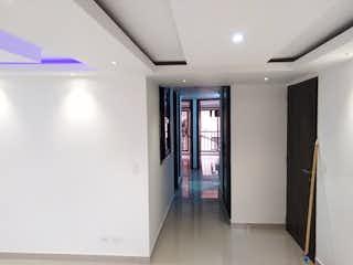 Una gran habitación con una gran puerta de cristal en Apartamento en venta en El Salado de tres habitaciones