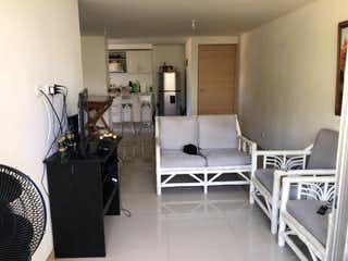 Una cocina con nevera y una estufa en Apartamento en venta en Parque 80m² con Piscina...