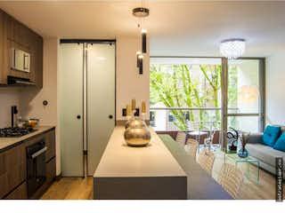 Una cocina con nevera y fregadero en Apartamento en venta en Las Vegas, 87m² con Zonas húmedas...