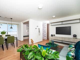 Una sala de estar llena de muebles y una televisión de pantalla plana en Apartamento en venta en El Trianón de 75m² con Zonas húmedas...