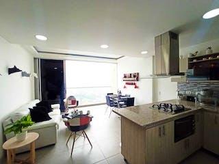 Una cocina con un fregadero y una estufa en ella en Se Vende Apartamento Duplex en Calasanz,Medellín