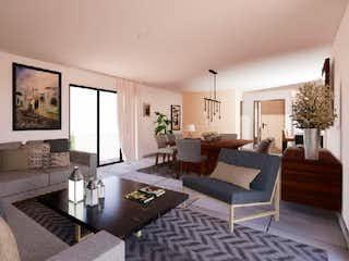 Una sala de estar llena de muebles y una televisión de pantalla plana en Pilares 71