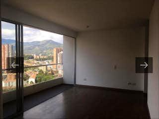 Una vista de una ciudad desde una ventana en Apartamento en venta en El Trapiche, de 72mtrs2