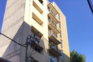 Departamento en venta en Roma Sur 65m2 con balcón