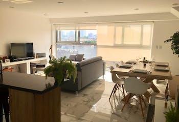Departamento en venta en Col. Del Valle Norte, 181 m² con roof garden