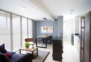 Apartamento En Venta En Rionegro Fontibon, cuenta con 3 habitaciones, 2 baños.