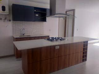 Un cuarto de baño con lavabo y bañera en Apartamento en venta en Casco Urbano El Retiro de 2 habitaciones