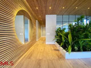 Una vista de una habitación desde un pasillo en Boschetto