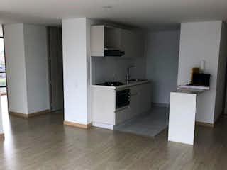 Una habitación que tiene un suelo de madera en ella en Apartamento en venta en Palermo de 2 habitaciones