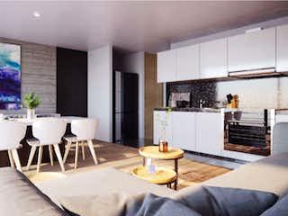 Una sala de estar llena de muebles y una mesa en Río Balsas 113