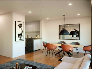 Una sala de estar llena de muebles y una mesa en Tamaulipas 178