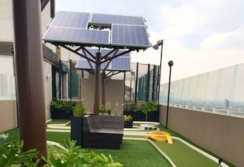 Departamento en venta en Santa Cruz Atoyac, 97.4 m² con jardín