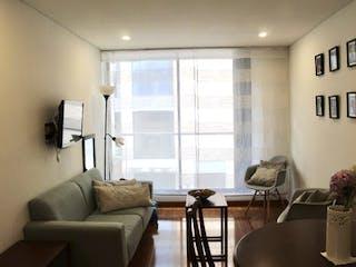 Una sala de estar llena de muebles y una ventana en Apartamento en Venta PASADENA