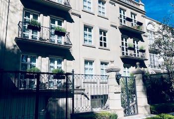 Departamento en venta en Polanco, 88.5 m² con terraza