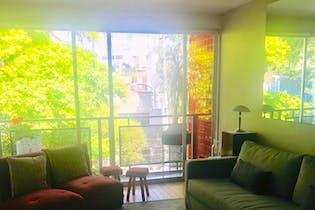 Departamento en venta en San Miguel Chapultepec, 155 m² con balcón