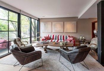 Departamento en venta en Polanco, 265 m² con balcón