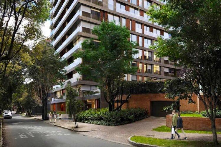 Portada Apartamento En Bogota La Cabrera cuenta con tres alcobas