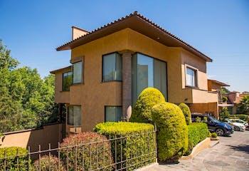 Casa en Casa en condominio en Venta en San Jerónimo Lídice, La Magdalena Contreras,  jardín privado