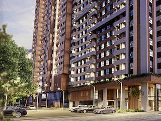 Un edificio alto con un edificio grande en el fondo en 270Q