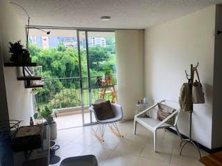 Una sala de estar llena de muebles y una ventana en Apartamento en venta en El Salado con acceso a Piscina
