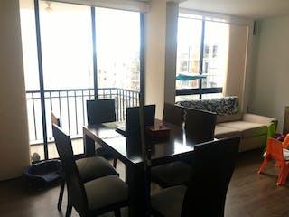 Una sala de estar llena de muebles y una ventana en Apartamento En Venta En Cajica Vereda Chuntame