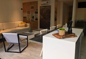 Apartamento en Poblado En Wall cuenta con una habitación
