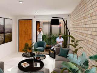 Una sala de estar llena de muebles y una ventana en EUGENIA DEL VALLE 8