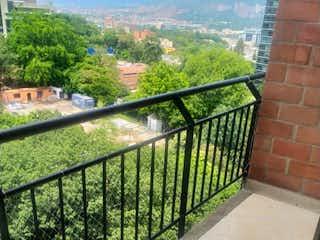 Una vista del horizonte de la ciudad desde una ventana en Apartamento en venta en Castropol de 89m² con Gimnasio...