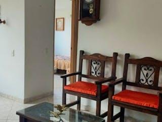 Una sala de estar llena de muebles y una ventana en Apartamento en Venta SAN ANTONIO DEL PRADO