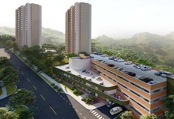 Mirador de Los Bucaros, Apartamentos en venta en EspíRitu Santo con 54m²