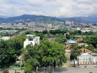 Una vista de una ciudad con un pueblo en el fondo en Venta de Apartamento Santa María de Los ngeles, Poblado