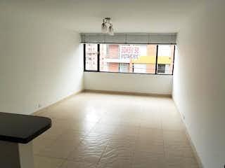 Una vista de una cocina desde el pasillo en Apartamento En Venta En Bogota Chapinero