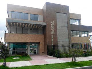 Un gran edificio de ladrillo con una gran ventana en Se Vende o Arrienda Apto En Funza Cundinamarca