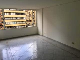 Un baño que tiene una ventana en él en Apartaestudio En Venta En Bogota Sagrado Corazón-Usaquén