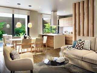 Una sala de estar llena de muebles y una ventana en Deco 120