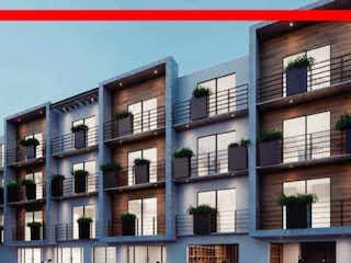 Un edificio alto con una luz roja en él en Estrena departamento en la Col. Escandon / Miguel Hidalgo