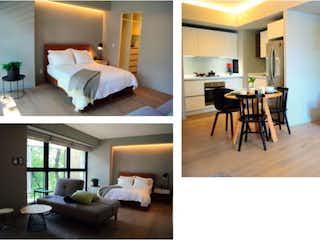 Un collage de fotos de una sala de estar en Departamento en Venta en Roma Norte Cuauhtémoc