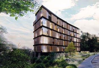 Origami 60, Apartamentos nuevos en venta en Bosque Calderón con 1 habitacion