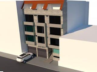 Una caja blanca sentada en la parte superior de un edificio blanco en Apartamento En Venta En Bogota Fontibón Villemar