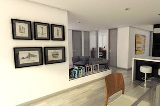 Vivienda nueva, Pinares Reservado Torre Platino, Apartamentos en venta en Casco Urbano Chía con 56m²