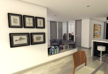 Pinares Reservado Torre Platino, Apartamentos nuevos en venta en Casco Urbano Chía con 1 habitacion