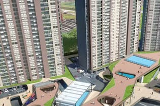 Boreal, Apartamentos en venta en Techo 74m²